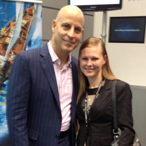 Elena Varnavska with Randy Gage